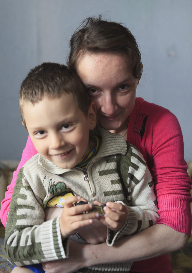 Ruslan ja äiti
